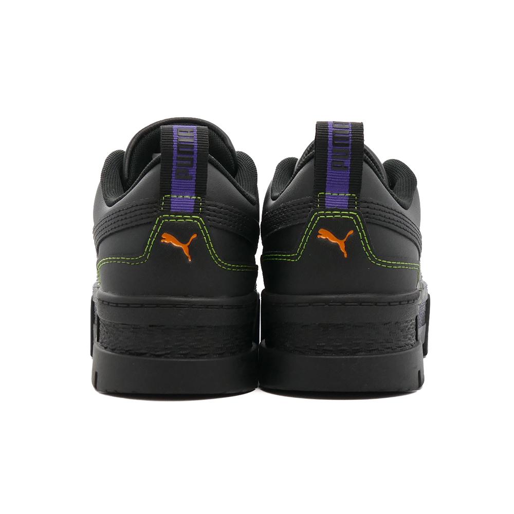 スニーカー プーマ PUMA メイズサンタクルーズ  プーマ ブラック/プーマ ブラック 黒 381092-01 レディース シューズ 靴 21AW
