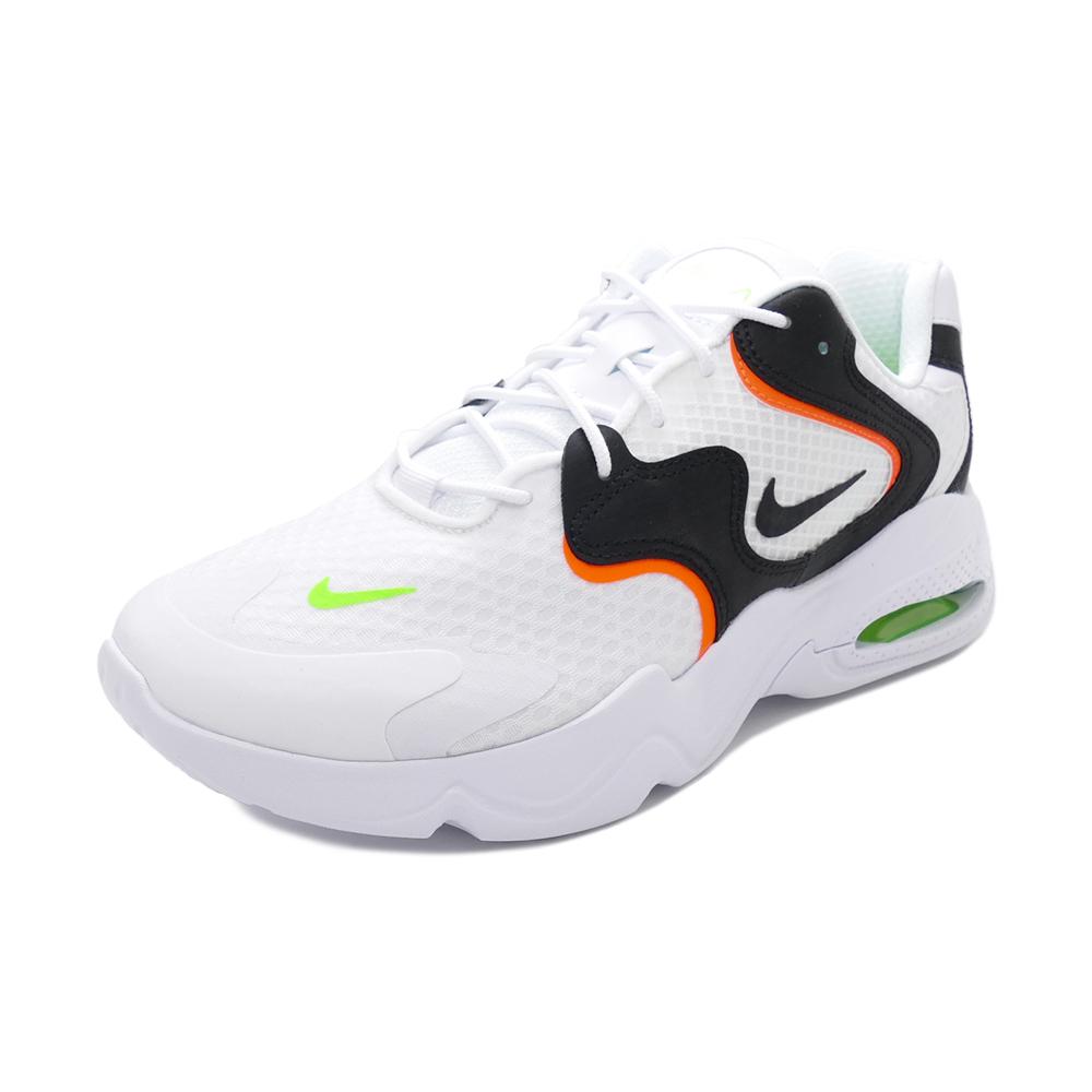スニーカー ナイキ NIKE エアマックス2X ホワイト/ブラック/エレクトリックグリーン CK2943-103 メンズ シューズ 靴 21SP