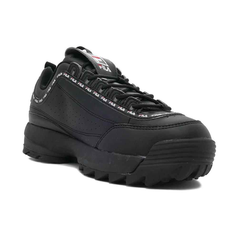 スニーカー フィラ FILA ディスラプター2テイピーテープ ブラック F0494-1092 メンズ レディース シューズ 靴 20SS