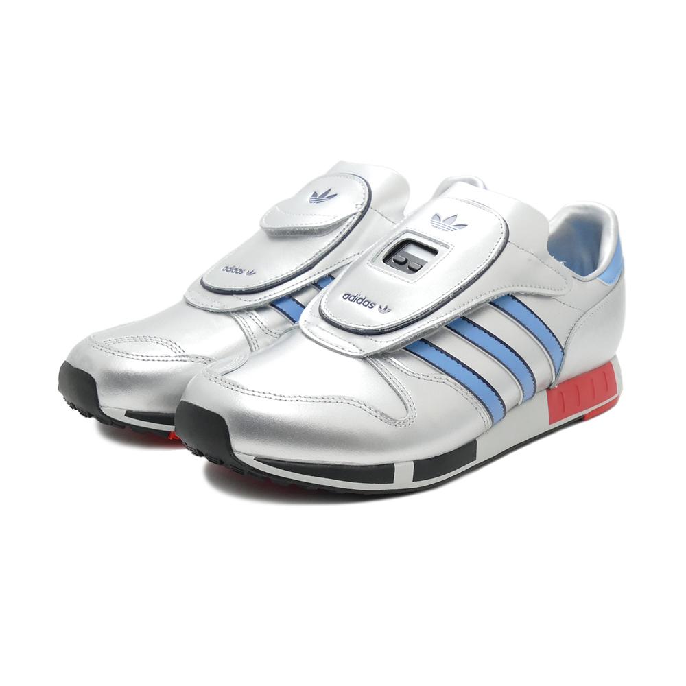 【先行予約】スニーカー アディダス adidas マイクロペーサー メタリックシルバー/ライトブルー FY7687 メンズ レディース シューズ 靴 21SS