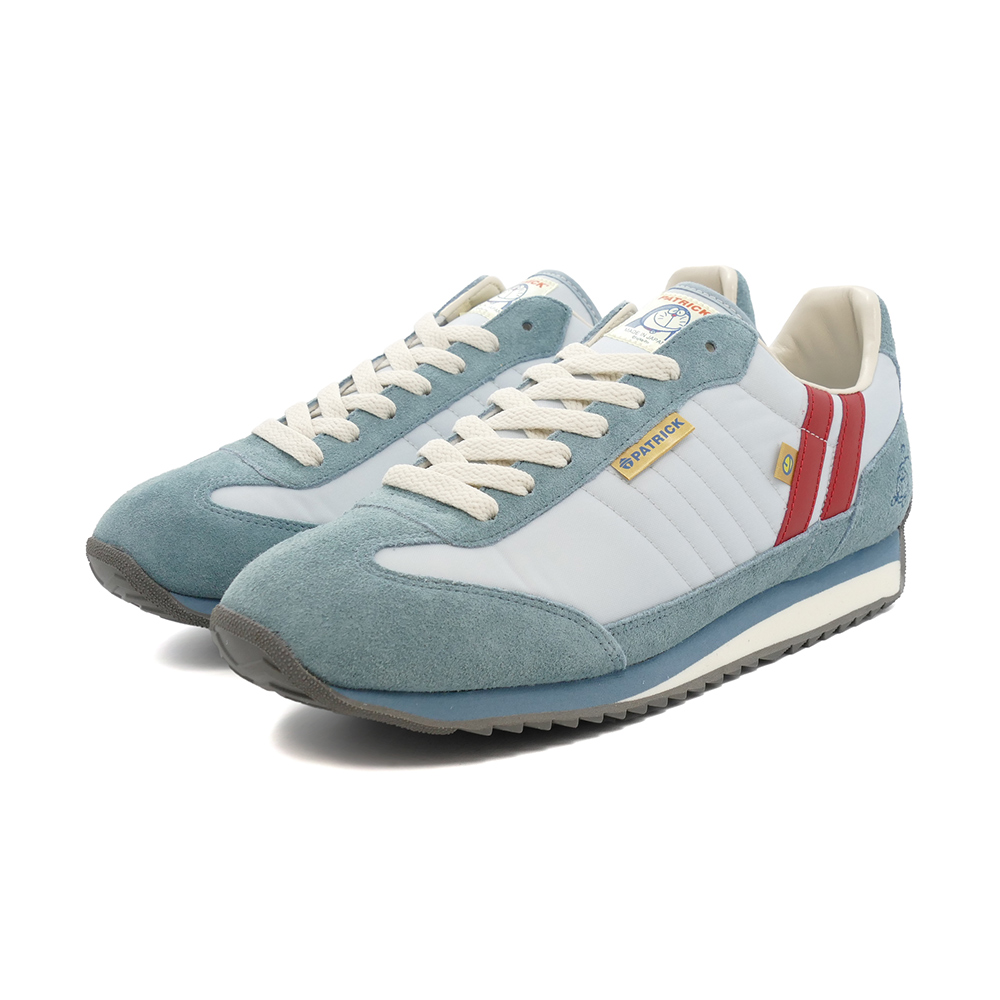 スニーカー パトリック PATRICK アイムドラえもん・マラソン SAX サックス 青 721506 メンズ レディース シューズ 靴 21Q3
