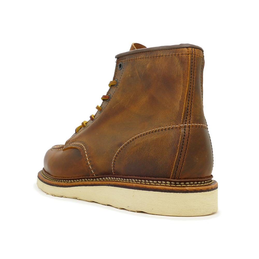 """RED WING 1907 ICON 6"""" Classic Moc レッドウイング 1907 アイコン 6インチ クラシックモック Copper Rough&Tough カッパー ラフ&タフ"""