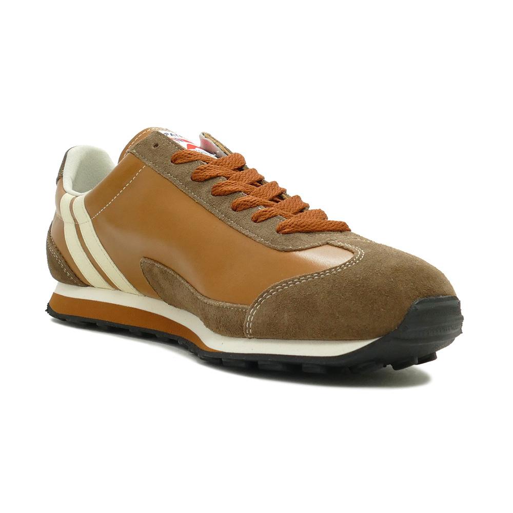 スニーカー パトリック PATRICK ボストン・レザー�CML キャメル 528193 メンズ シューズ 靴 19AW