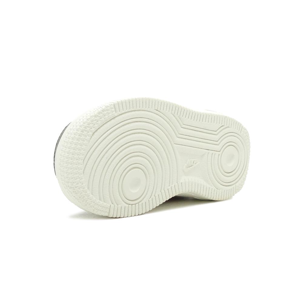 スニーカー ナイキ NIKE エアフォース1LV8TD ブラック/サミットホワイト/ハバネロレッド AH7530-004 キッズ シューズ 靴
