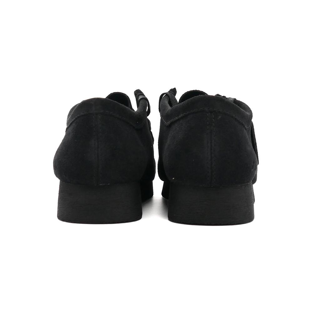 ブーツ クラークス Clarks ワラビー2 ブラックスエード 黒 26158276 メンズ シューズ 靴 21SS