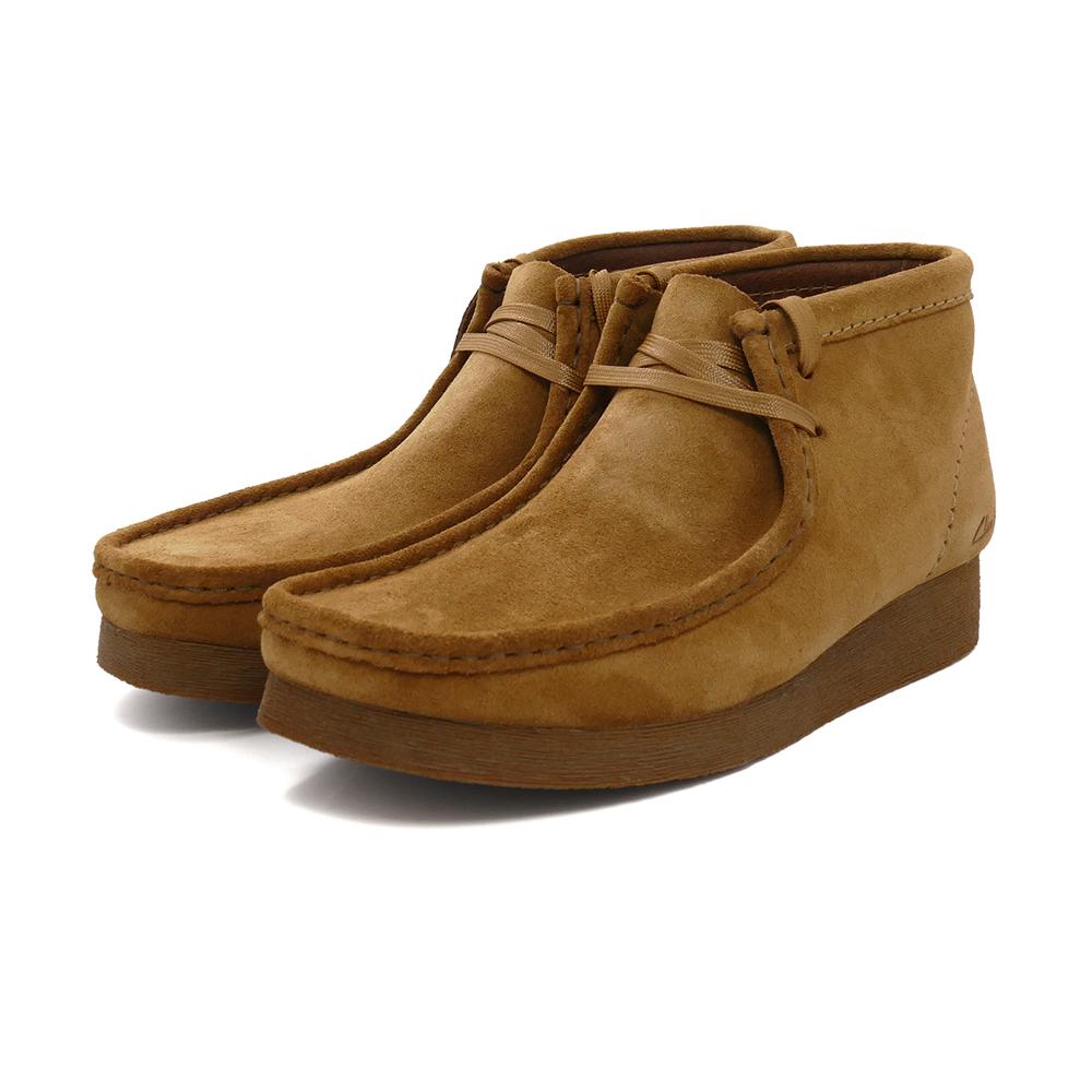 ブーツ クラークス Clarks ワラビーブーツ2 ブラウンスエード 茶 26161149 メンズ シューズ 靴 21SS