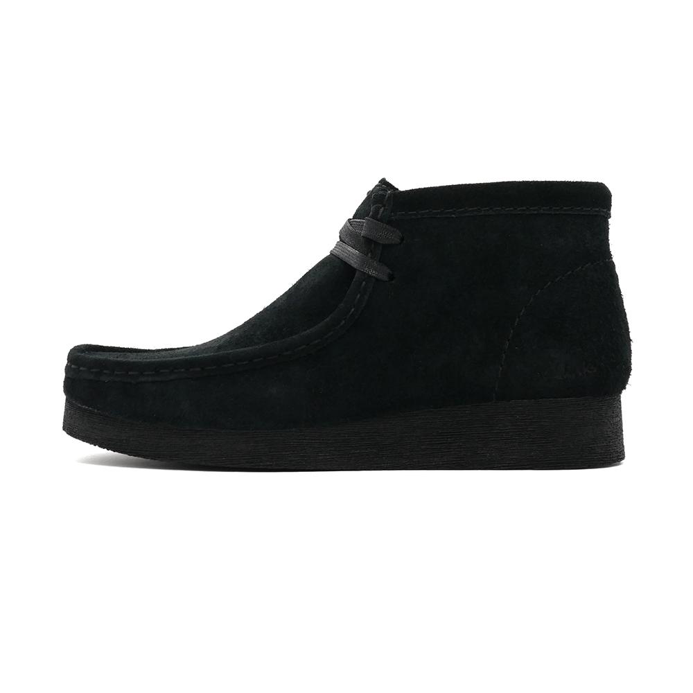 ブーツ クラークス Clarks レディース ワラビーブーツ2 ブラック スエード 黒 26161529 レディース シューズ 靴 21SS