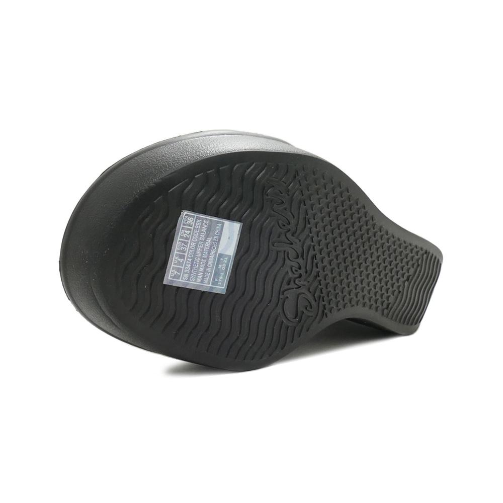 サンダル スケッチャーズ SKECHERS RUMBLE UP-FUNNY BUSINESS ブラック 33474-BBK レディース シューズ 靴 21SS