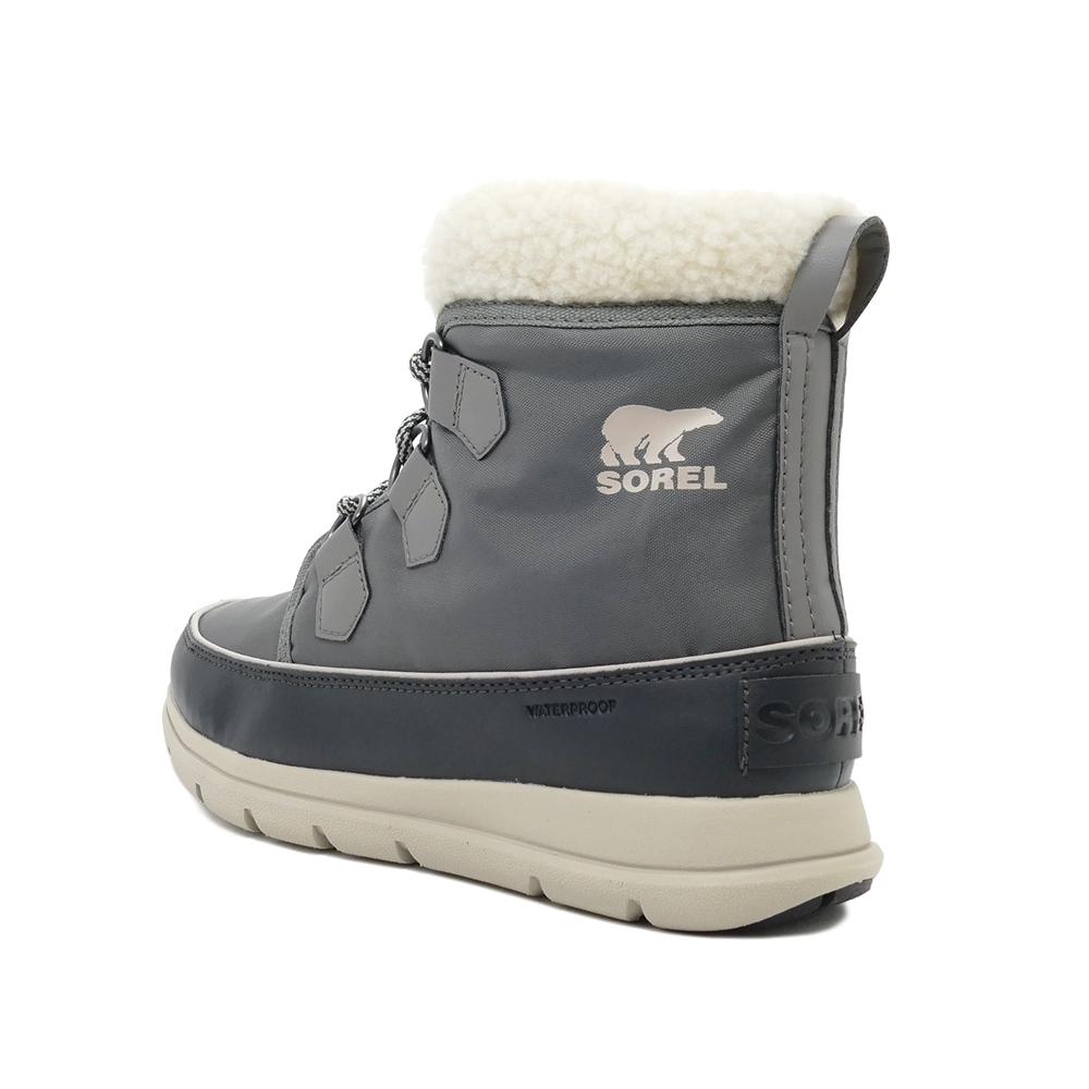 ブーツ ソレル SOREL ウィメンズ エクスプローラー カーニバル クォーリー グレー NL3040-052 レディース シューズ 靴