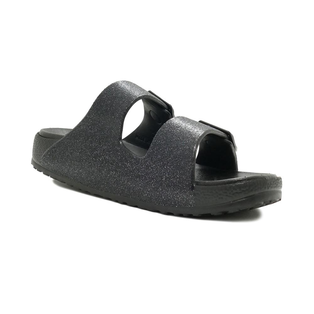 サンダル スケッチャーズ SKECHERS CALI BREEZE2.0-SHIMMERING ブラック/グレー 111057-BKGY レディース シューズ 靴 21SS