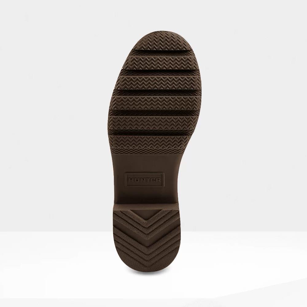 レインブーツ ハンター HUNTER ウィメンズオリジナルツアーショート ビターチョコレート WFS1026RMA-BCH レディース シューズ 長靴 20SP
