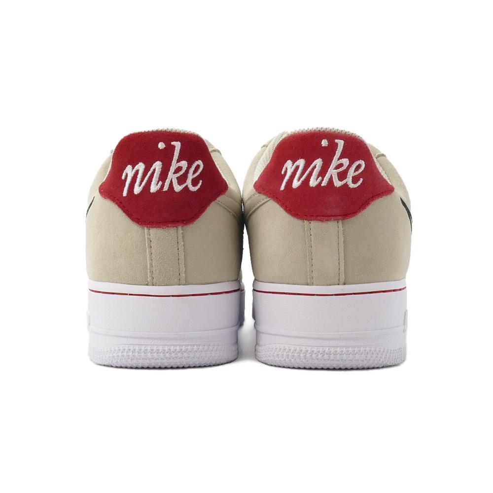 スニーカー ナイキ NIKE エアフォース1'07 LV8 ライトストーン/ブラック/セイル/ユニバーシティレッド 白 赤 DB3597-100 メンズ シューズ 靴 21FA