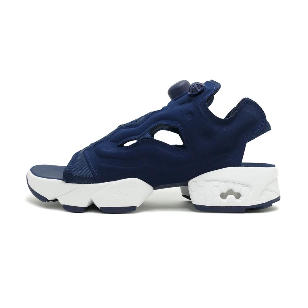 スニーカー リーボック REEBOK インスタポンプフューリーサンダル ネイビー/ホワイト メンズ レディース シューズ 靴