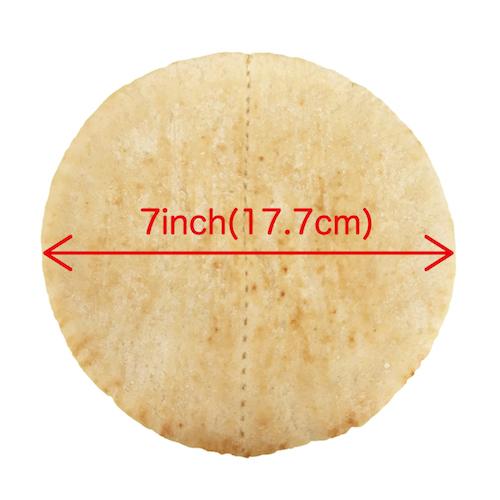 PITA BREAD 7inch 6case(720枚)