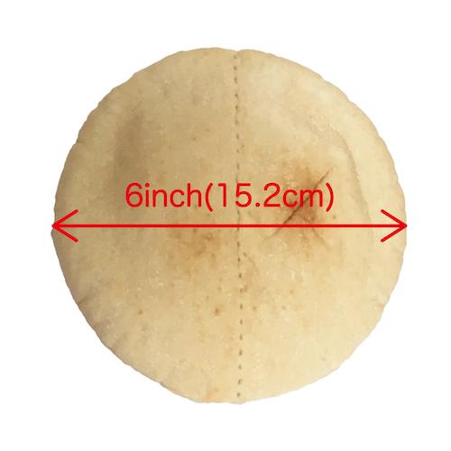PITA BREAD 6inch 2case(360枚)