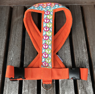 Fleece Harness peace【PMC00090】