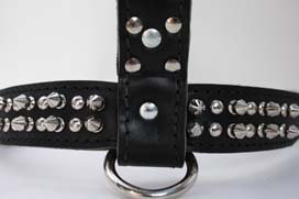 Leather Spike Harness【PMC00034】