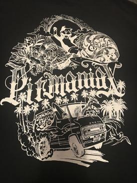 pitmaniaX TEE black 【PMT00058】