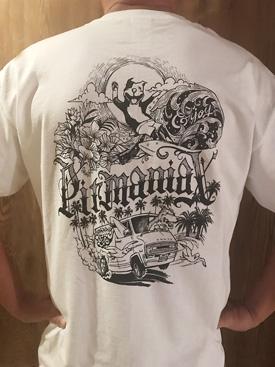 pitmaniaX TEE white 【PMT00059】