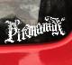 pitmaniaX Sticker #1 【PMS00131】