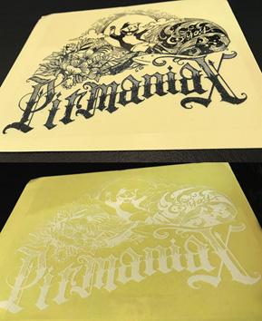 pitmaniaX Sticker #2 【PMS00132】
