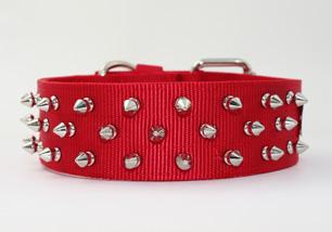 Spiked Nylon-collar 【PMC00003】