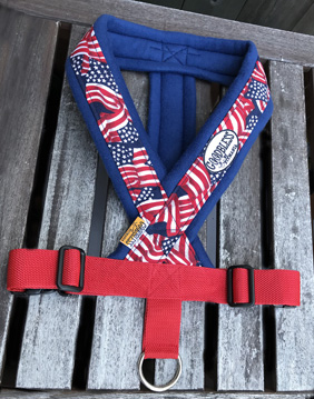 Fleece Harness USA【PMC00092】