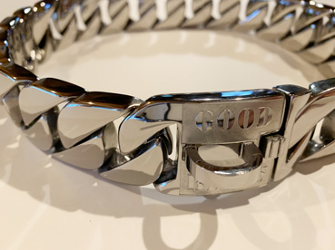 RUGGED CHAINS COLLAR SILVER 【PMC00086】送料無料!