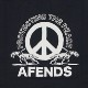AFENDS PROTECT TEE BLACK【PMT00062】