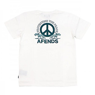 AFENDS PROTECT TEE WHITE【PMT00063】