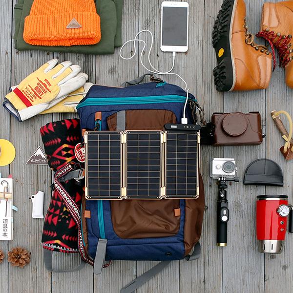 YOLK ソーラー充電器 Solar Paper 5W (YO8998)