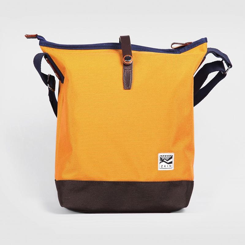 ZKIN トートバッグ G Obia オレンジブラウン(Z5105)