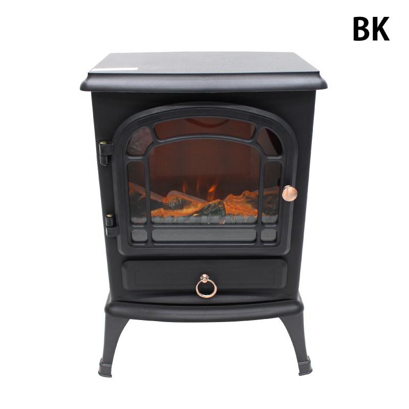 暖炉型ファンヒーター (HF-2008BK)