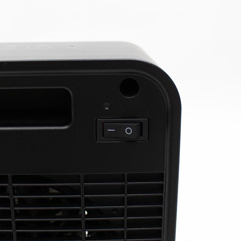 リモコン付き 静音温風PTCヒーター (角型)(YD-927)