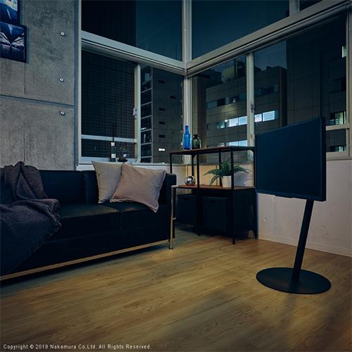 WALL[ウォール]テレビスタンドanataIRO SUIBOKU / ブラック (M0500159-K)