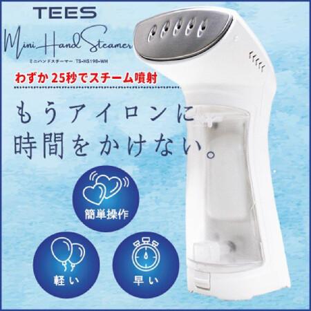 ミニハンドスチーマー ホワイト (TS-HS198-WH)