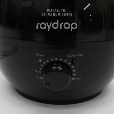 アロマLED加湿器 レイドロップ 3.8L / ブラック (KH-308BK)