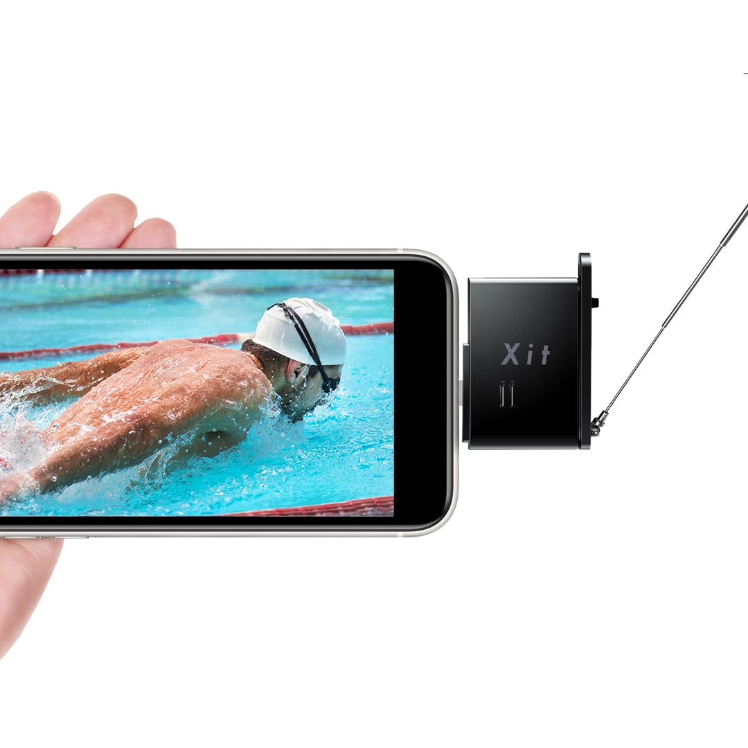 【予約受付中】Xit Stick (サイト・スティック) XIT-STK210 ブラック iPhone/iPad対応