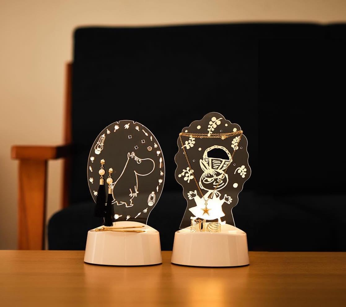 LEDアクリルスタンドライト【ムーミン】 (ART-MMN-01)