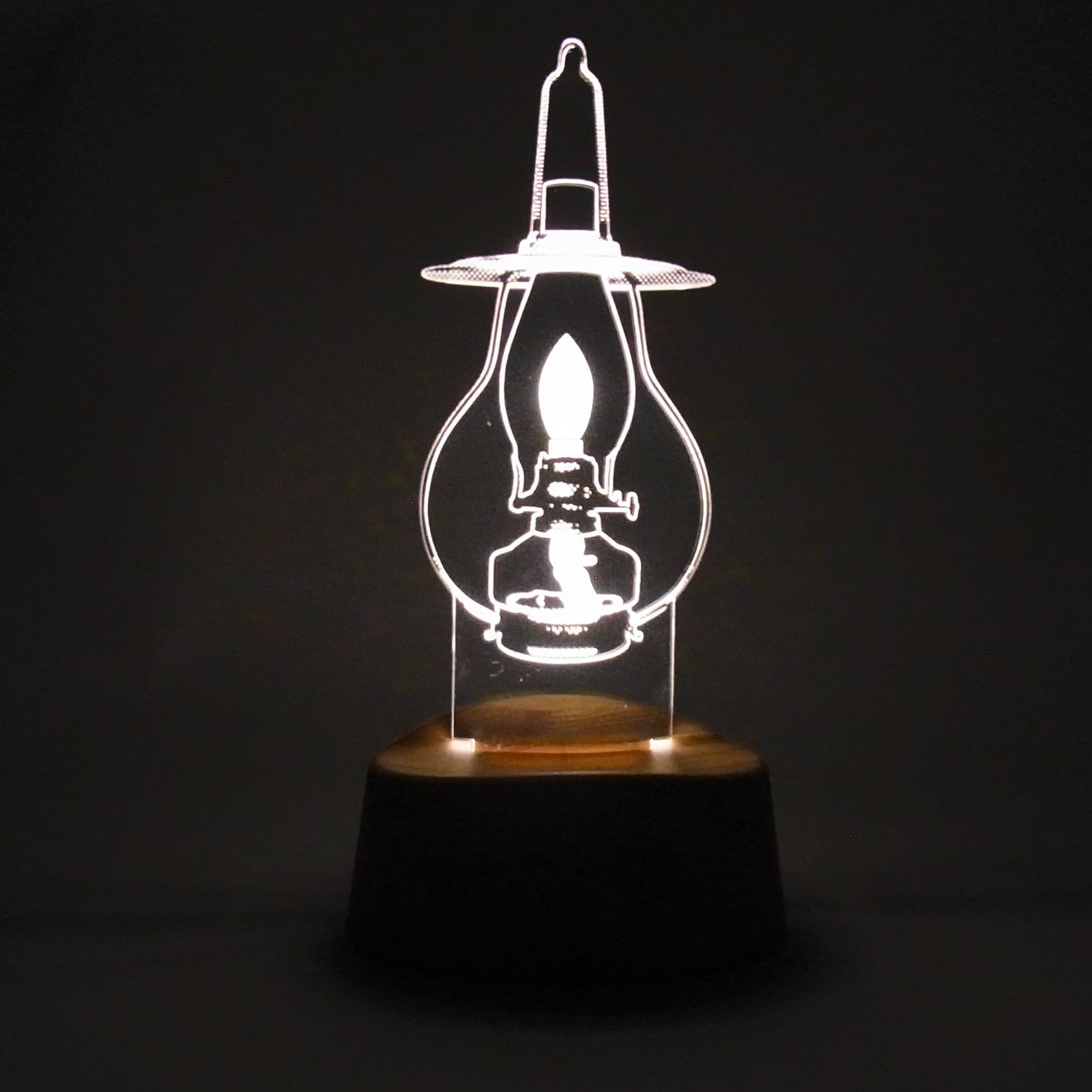 LEDアクリルスタンドライト【吊りランプ】 (ART-AKARI-05)