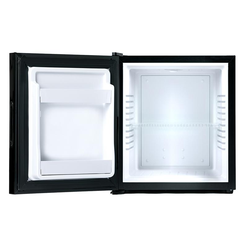 A-Stage 1ドア冷蔵庫 32L ミラーガラス/ペルチェ式:ブラック (AR-32L01MG)