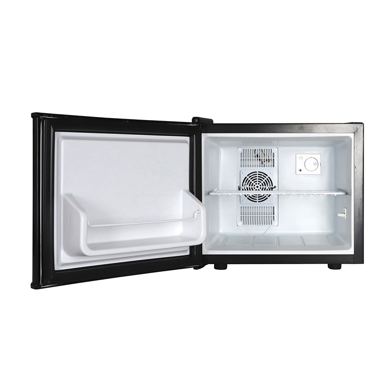 Grand Line コンパクトタイプ 1ドア冷蔵庫 17L/ペルチェ式:ブラック (WRF-1017B)