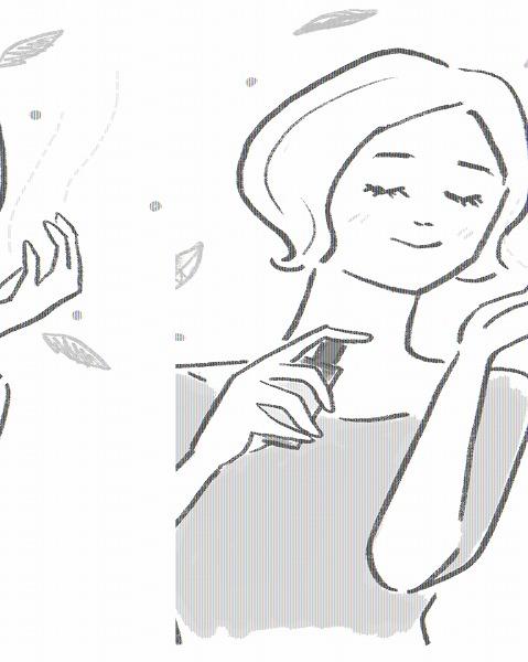 ひんやり心地よくリフレッシュできるアロマ・マスクスプレー ミントの香り 【常温発送】