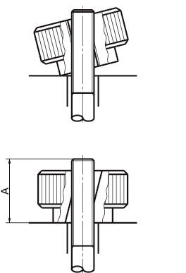 クイッククランプノブ KQC-24-M6