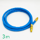 温調機送返媒用ホース(熱水用120℃) 長さ3.0m