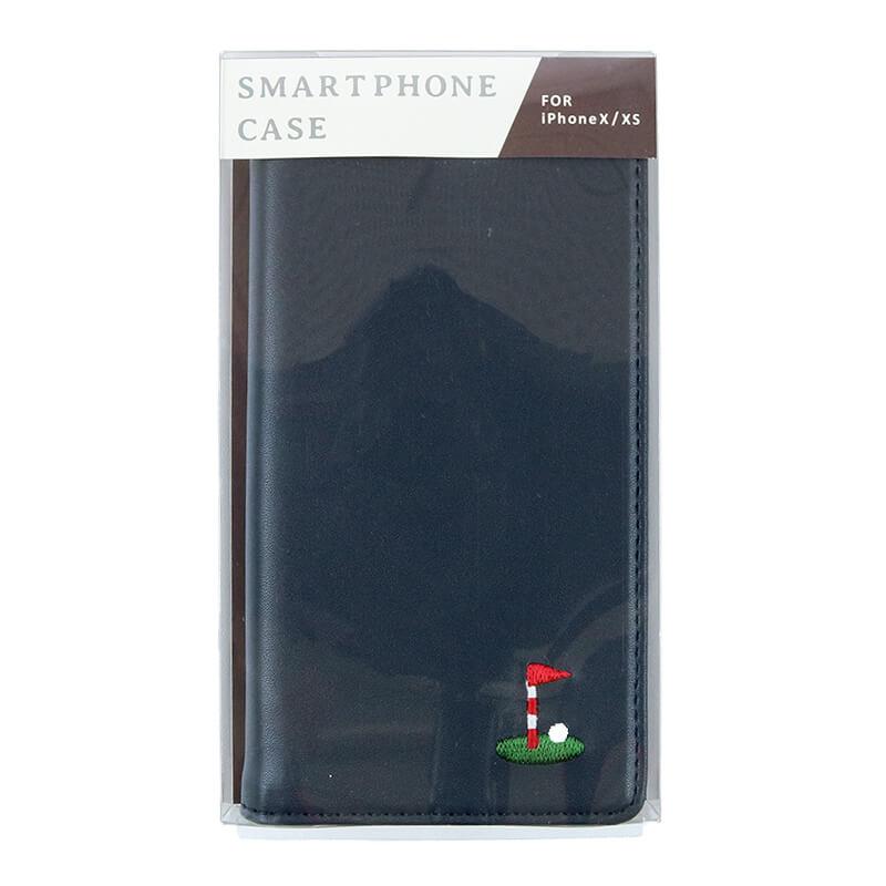 メンズiPhoneケース / メガネカーキ[iPhoneX/XS対応]
