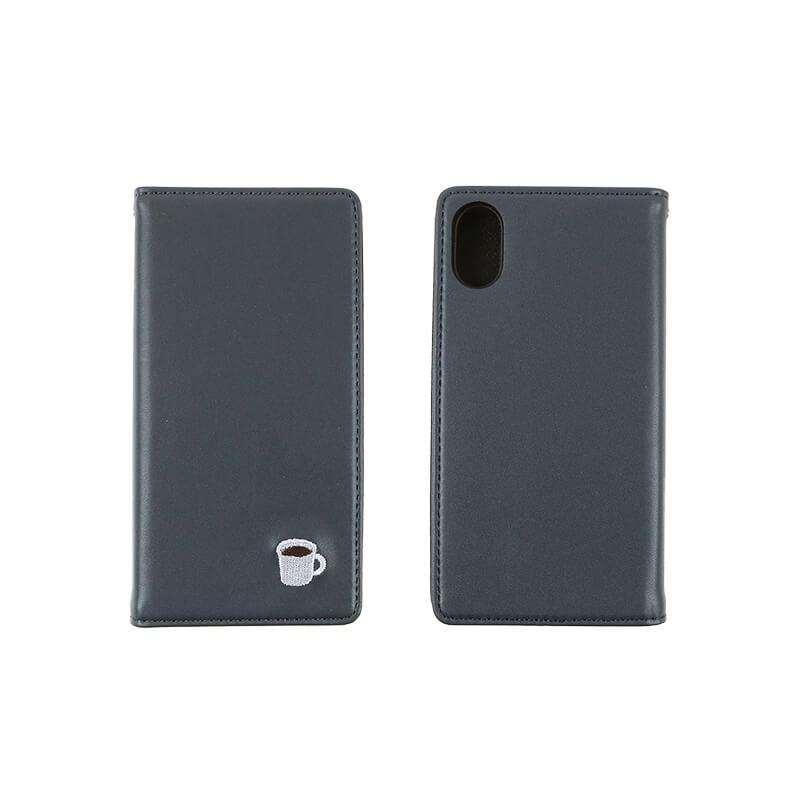 メンズiPhoneケース / コーヒーグレー[iPhoneX/XS対応]