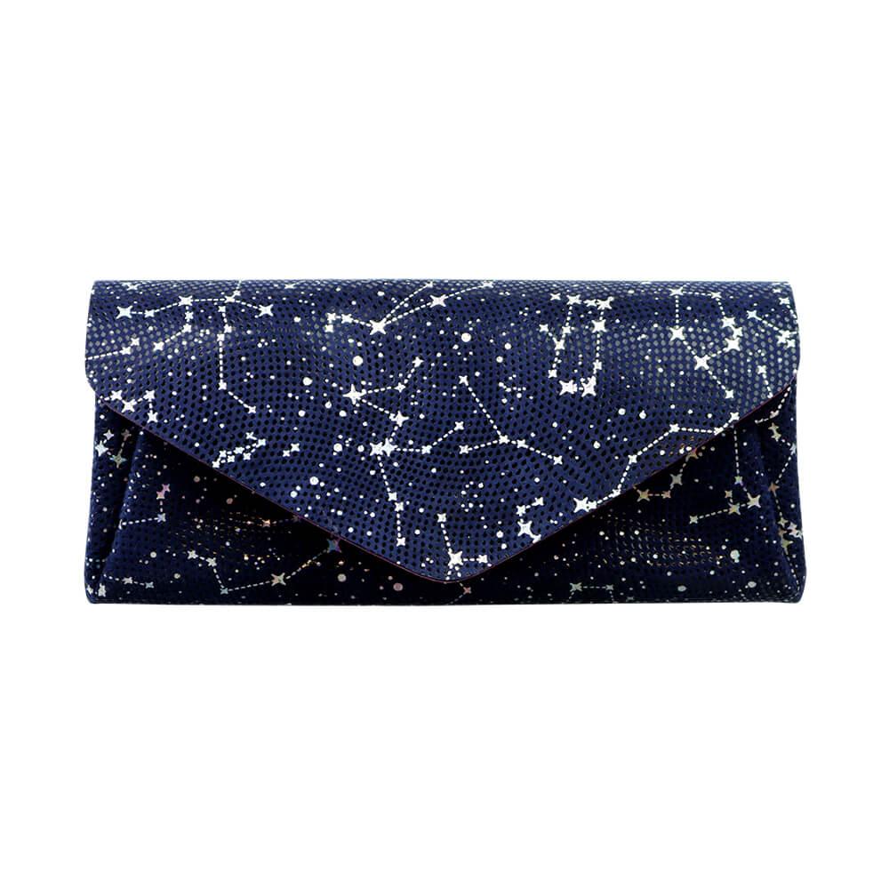 Long Wallet / Starry Leather / ネイビー [carmine]