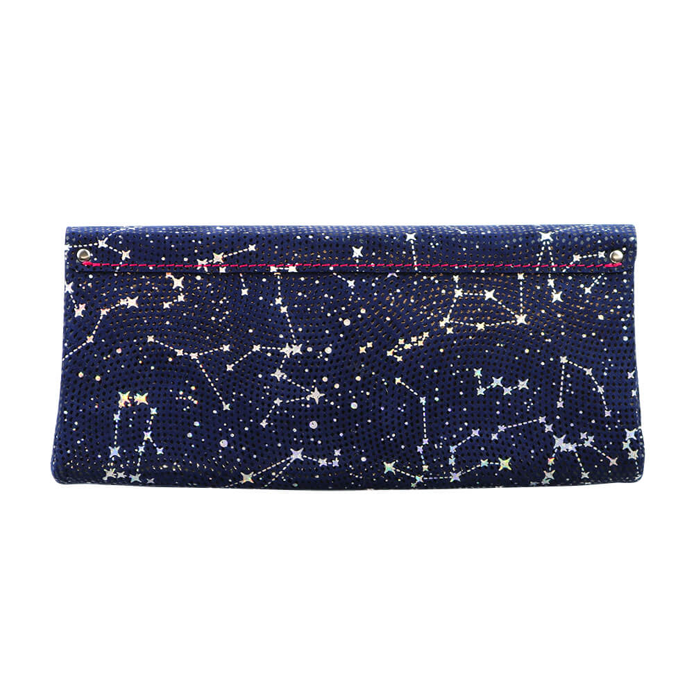 Long Wallet / Starry Leather / ネイビー [carmine]