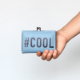 カードケース / ハッシュタグプリント / #COOL [PPP]